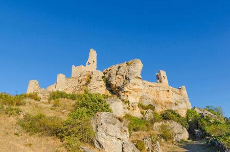 Ruins of Calatanazor Castle, Soria, Castilla y Leon, Spain