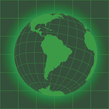 South america map antarctica north america africa earth globe green south america map antarctica north america africa earth globe elements gumiabroncs Choice Image