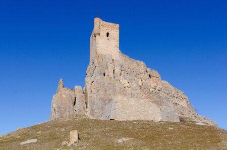 castilla la mancha: Castle of Atienza, Guadalajara, Castilla la Mancha, Spain