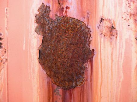 oxidado: Oxidado y la placa de metal oxidado. Resumen de antecedentes. Foto de archivo