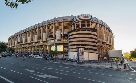 Santiago Bernabeu Stadium Stok Fotoğraf - 44267658
