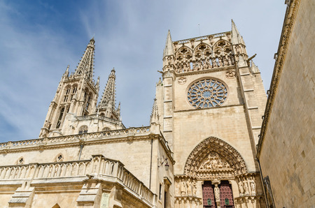 gothic architecture: Cathedral of Burgos. An Spanish example of gothic architecture