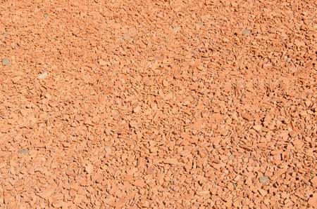 aggregates: Aggregates of bricks for gardens and grounds Stock Photo