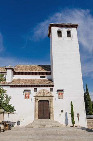 nicholas: Saint Nicholas church in Albaicin, Granada, Spain