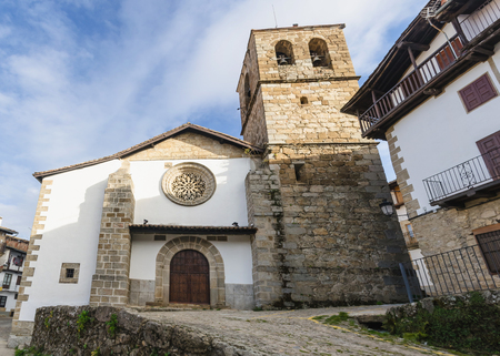 assumption: Church of Our lady of the Assumption in Candelario, Salamanca, Spain