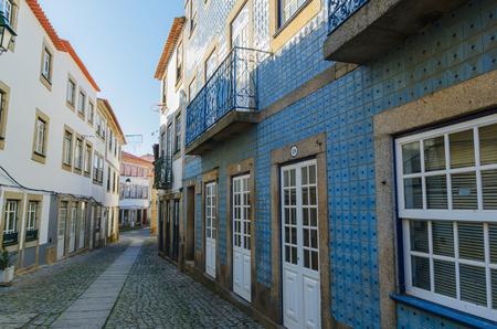 fortify: Typical street in Almeida village, Beira, Guarda, Portugal Editorial