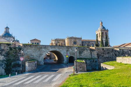 castile leon: Ciudad Rodrigo, Salamanca, Castile and Leon, Spain Stock Photo
