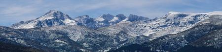 regional: Panoramic view of the mountains in sierra de Gredos regional park, Avila, Castile and Leon, Spain Stock Photo