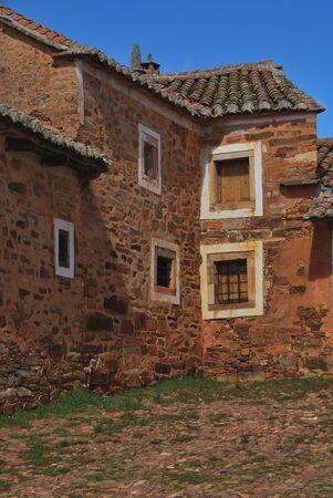 castile and leon: Typical architecture in Castrillo de los Polvazares. Leon. Castile and Leon. Spain. Camino de Santiago