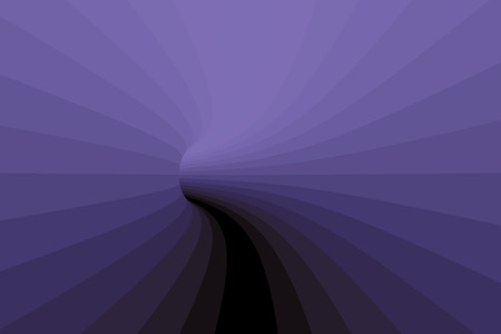 tunnel vision: Detail on the hole of a tunnel in purple. abstract background. 3d illustration. 3d rendering