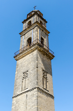 Tower of the catedral of Jerez de la Frontera. Cadiz, Andalusia, Spain