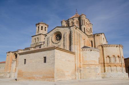 Collegiate church of Santa Maria la Mayor in Toro, Zamora, Castile and Leon, Spain Imagens