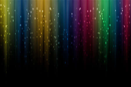 downlight: Artistic digital background aurora borealis with funny colors.
