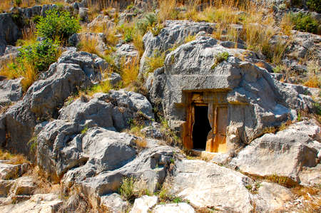 Lycian rock tomb