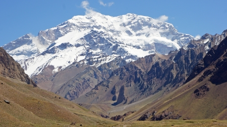 np: NP Aconcagua, Andes Mountains, Argentina