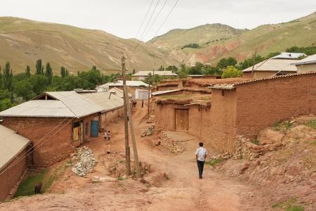 uzbekistan: Clay Hovel, Hissar Mountains, Uzbekistan, Central Asia