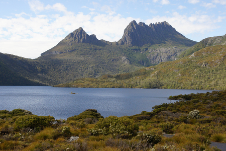 Cradle Mountain Lake St  Clair National Park, Tasmania, Australia Stock Photo - 22397121