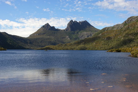 Cradle Mountain Lake St  Clair National Park, Tasmania, Australia Stock Photo - 22397123