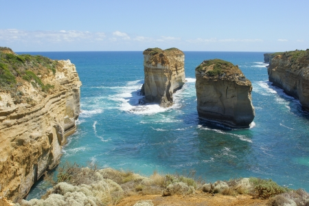 ard: Loch Ard Gorge, Port Campbell National Park, Great Ocean Road, Victoria, Australia