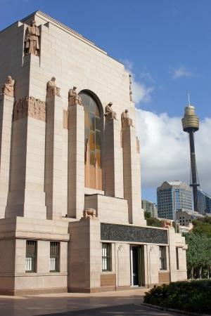 hyde: ANZAC War Memorial, Hyde Park, Sydney, Australia Editorial