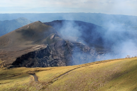 america centrale: Parco Vulcano Masaya Nazionale, Nicaragua, America Centrale