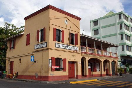 dominica: Museum, Roseau, Dominica, Caribbean Editorial