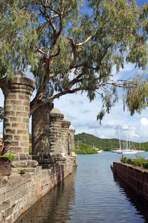 Nelsons Dockyard on English Harbor, Antigua and Barbuda, Caribbean