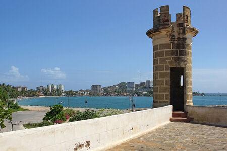 carlos: Fortress San Carlos Borromeo, Pampatar, Isla Margarita, Venezuela