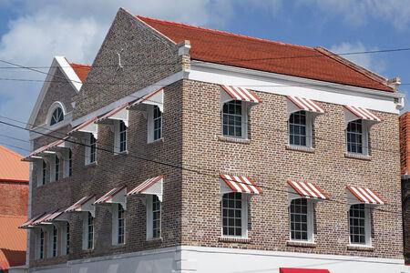 georges: Historic building, Saint Georges, Grenada, Caribbean Editorial