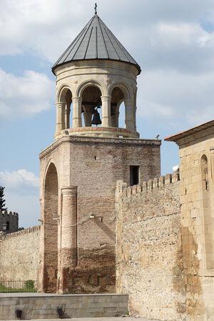 sveti: Belfry of the Church Sveti Zchoweli, Mzcheta, Georgia, Europe