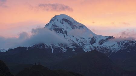 nger: Mount Kazbek, Stepantsminda, Georgia, Europe
