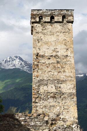 mestia: Fortified towers of Swanetia, Mestia, Georgia, Europe