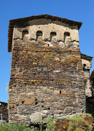 swanetia: Fortified towers of Ushguli, Swanetia, Georgia, Europe