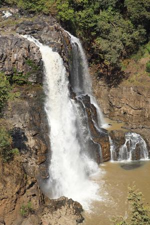 the nile: Blue Nile waterfalls, Bahar Dar, Ethiopia, Africa Stock Photo