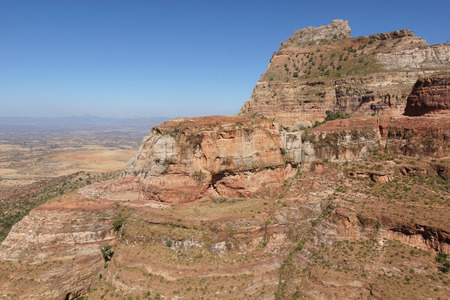 nger: Landscape in Tigray province close to Adigrat, Ethiopia, Africa