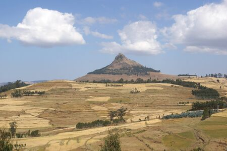 nger: Landscape close to Gondar, Ethiopia, Africa