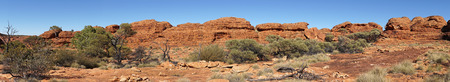 kings canyon national park: Landscape of the Kings Canyon, Outback of Australia