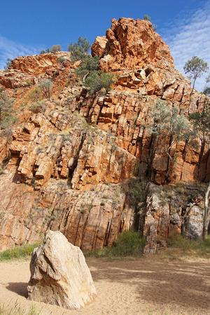 ranges: Emily Gap, East MacDonnell Ranges, Northern Territory, Australia Archivio Fotografico