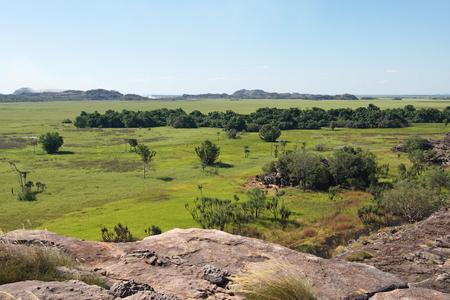 kakadu: Landscape of the Kakadu National Park close to Ubirr, Australia
