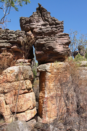 nourlangie: Landscape of Nourlangie Rock, Kakadu National Park, Australia
