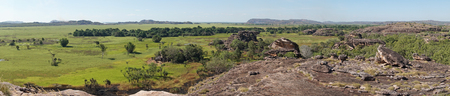 Landscape of the Kakadu National Park close to Ubirr, Australia