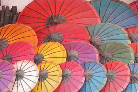 south east: Umbrella, souvenir of Laos, South East Asia
