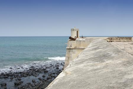 Fort Sao Sebastiao, Sao Tome city, Sao Tome and Principe, Africa