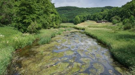 Bitburg, 독일, 유럽에 가까운 Eifel 지역의 풍경 스톡 콘텐츠 - 87930320