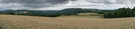 Bitburg, 독일, 유럽에 가까운 Eifel 지역의 풍경