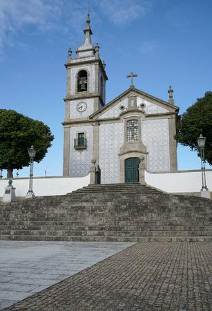 Church of Arcos, sights along the Camino de Santiago trail, Portugal