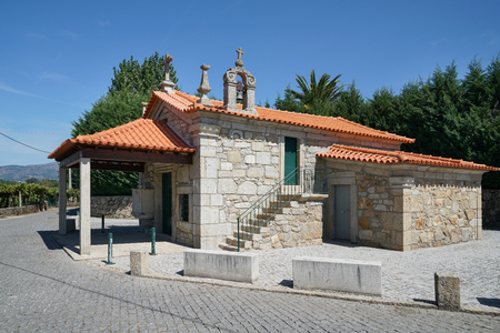 Chapel Senhora das Neves in Barros close to Ponte de Lima, Camino de Santiago, Portugal