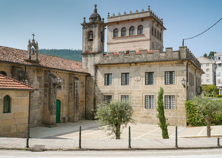 Convento de Vilavella on the Camino de Santiago trail, Redondela, Spain
