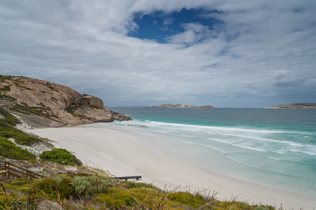 West Beach close to Esperance on an overcast day, Western Australia