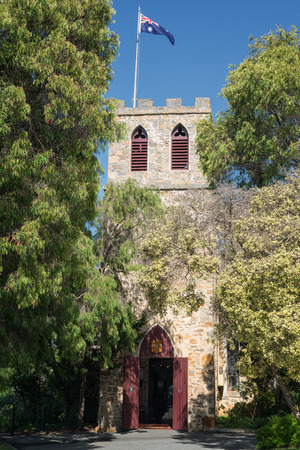 Old church, famous place of Albany, Western Australia